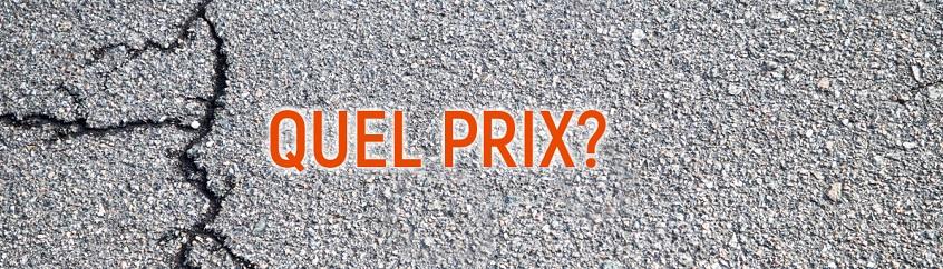 prix reparation asphalte