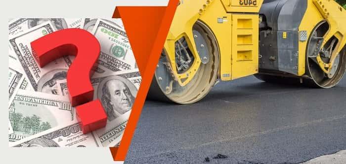 asphalte et pave uni prix