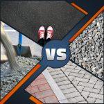 Quels sont les sortes & types de pavage pour une cour d'entrée résidentielle? Pavage, asphaltage…